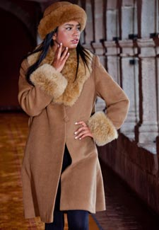 Image result for Alpaca Fur Coat
