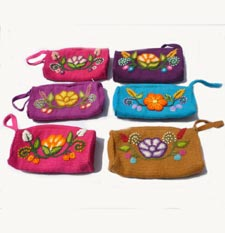 Fashion Andean Wool Purses